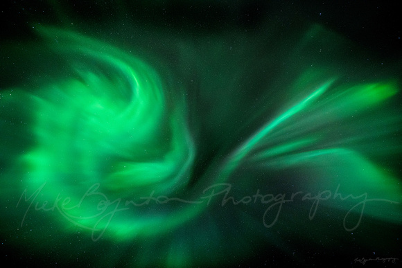 The Aurora Borealis by photographer Mieke Boynton