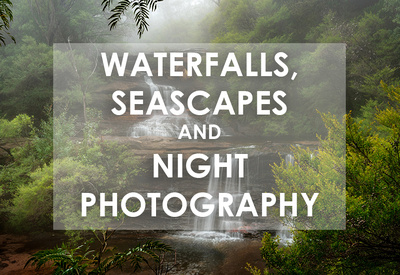 Waterfalls, Seascapes and Long Exposure Photography - online workshop with Mieke Boynton