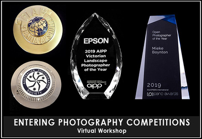 Entering Photography Competitions - online workshop with Mieke Boynton