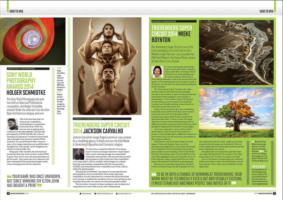 """Advanced Photographer"" Magazine - Issue 54 pg 24-25"